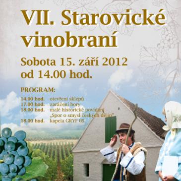 7. Starovické vinobraní